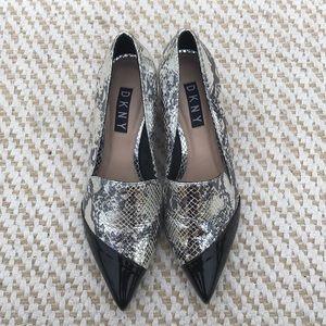 DKNY pointed toe heels